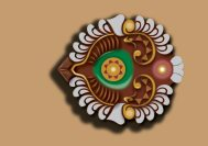 Vector illustration of a decorative lamp (diya)