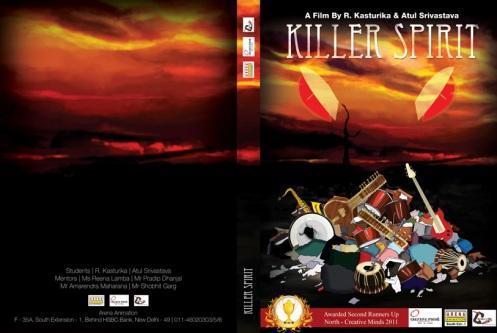 Killer Spirit DVD Cover