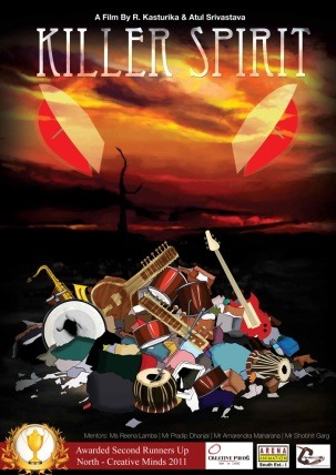 Killer Spirit Poster