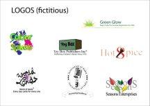 Some fictitious logos