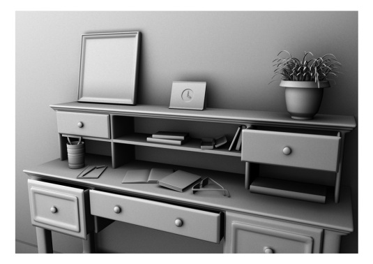 Table Ambient Occlusion