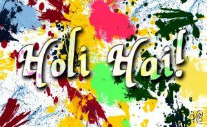 It's Holi!