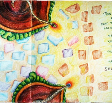 Diwali Greeting Card 2010