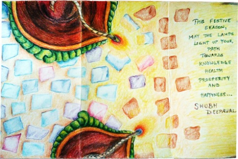 Diwali Greeting Card 2010