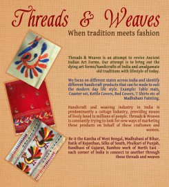 Threads 'n' Weaves mailer page 2