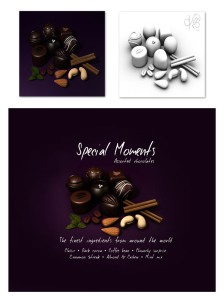 Label for the Chocolate Box