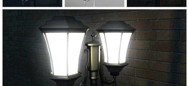 Lamp Post - Close Up