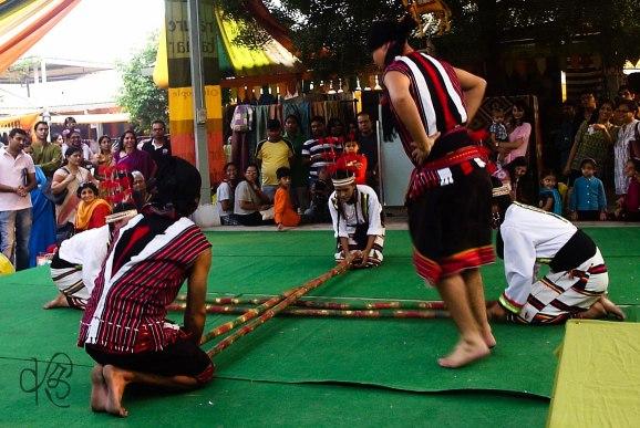 Mizoram Bamboo Dance