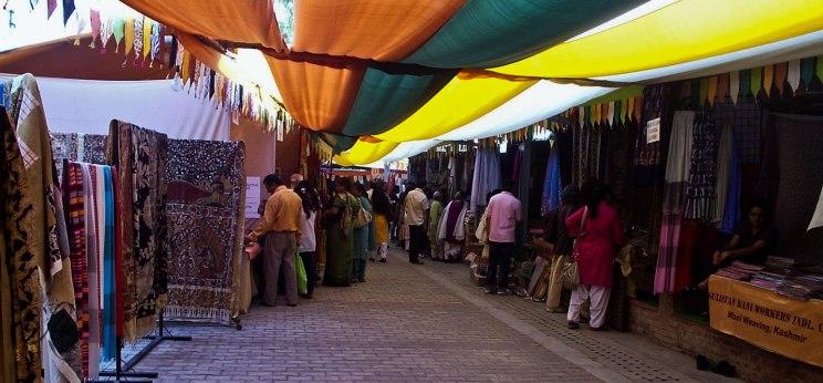 Stalls in the Bazaar
