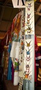 Kerala Murals shrunk into pendants