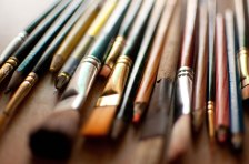 Brushes and Pencils