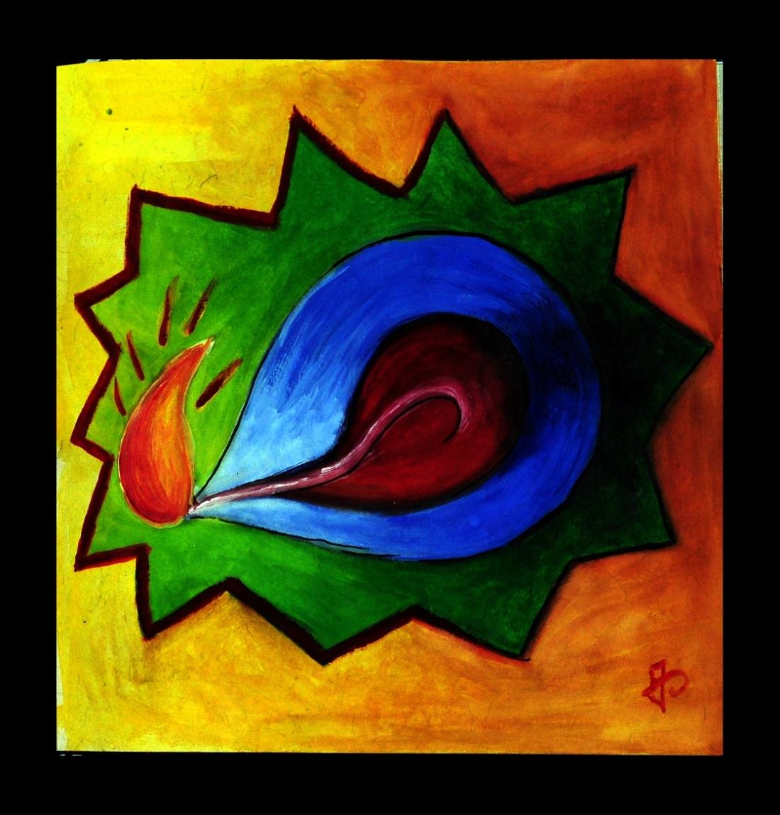 Diya Painting
