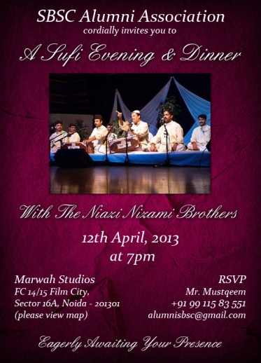 Sufi Evening and Dinner