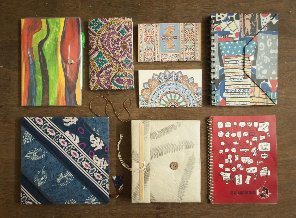 Colourful diaries