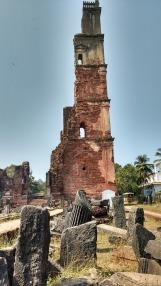 Overlooking the fallen pillars