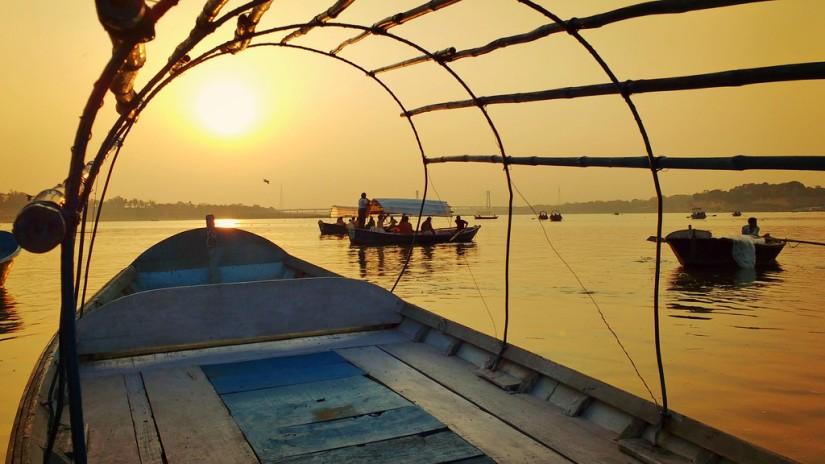 Sunset at Sangam